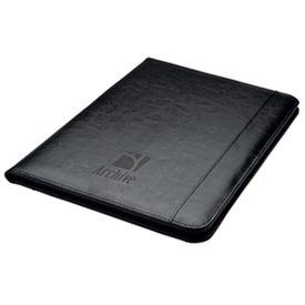 Custom 40Pg Bonded Leather Folder