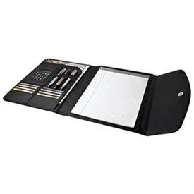 40 Pg Folio w/Calculator with Your Slogan