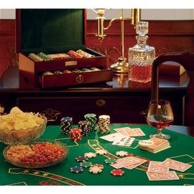 Personalized 500 Piece Executive Poker Set