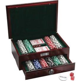 500 Piece Executive Poker Set for Customization