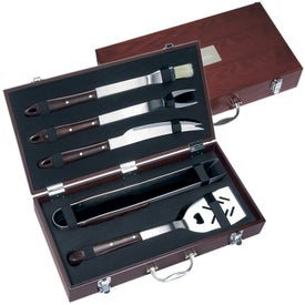 5 Piece Executive Barbecue Set