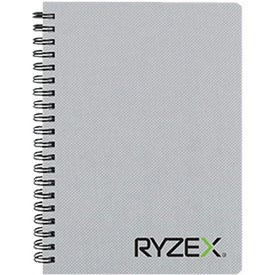 "Branded 5"" x 7"" Texture Notebook with Pen"