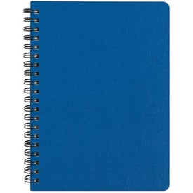 "5"" x 7"" Texture Notebook with Pen for Promotion"