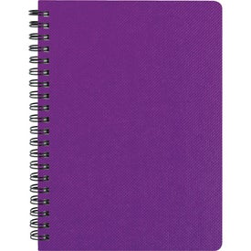 "Promotional 5"" x 7"" Texture Notebook with Pen"