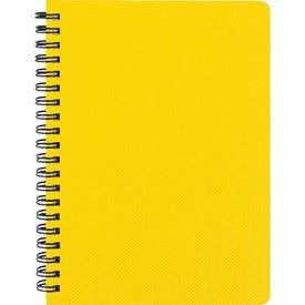 "Advertising 5"" x 7"" Texture Notebook with Pen"