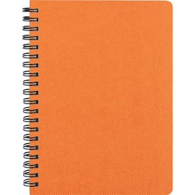 "5"" x 7"" Texture Notebook with Pen Imprinted with Your Logo"