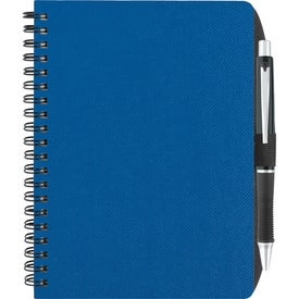 """5"""" x 7"""" Texture Notebook Printed with Your Logo"""