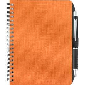 "Monogrammed 5"" x 7"" Texture Notebook"