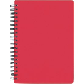 "Customized 5"" x 7"" Translucent Notebook"