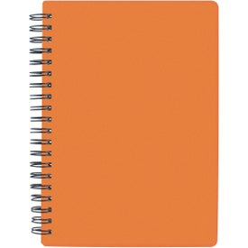 "Customized 5"" x 7"" Translucent Notebook"