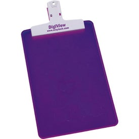 "5"" x 8"" Keep-it Clipboard for Your Organization"