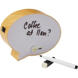 "6"" Light-Up Mini Speech Bubble Message Board"