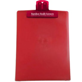 "Advertising 9"" x 12"" Keep-it Clipboard"
