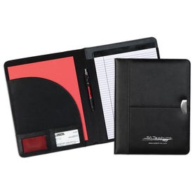 Achiever Leather Pad Holder