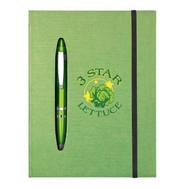 Promotional All Together Metallic Color Journal Notebook