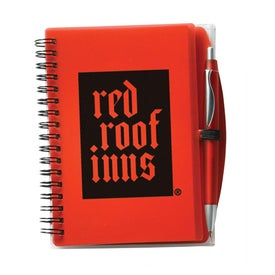 Branded All In One Eco Journal with Pen and Recycled Paper