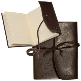 Americana Leather-Wrapped Journal Giveaways