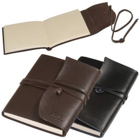 Advertising Americana Leather-Wrapped Journal