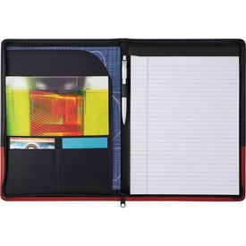 Promotional The Associate Zippered Portfolio