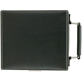 Personalized Attache II Bar and Flask Set