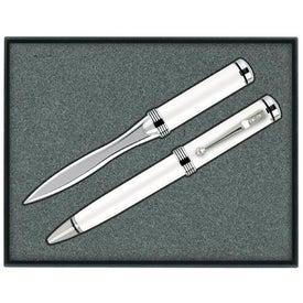 Ballpoint Pen/Letter Opener Gift Set for Your Organization
