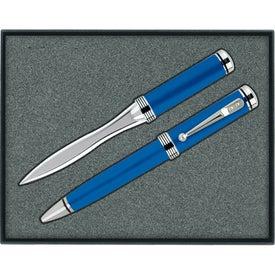 Custom Ballpoint Pen/Letter Opener Gift Set