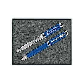 Ballpoint Pen/Letter Opener Gift Set
