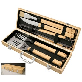 Bamboo BBQ Set (5 Piece)
