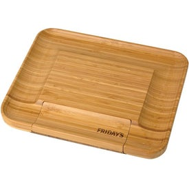 Bamboo Cheese Serving Set with Your Slogan