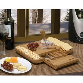 Bamboo Cheese Serving Set for Your Church