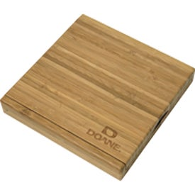 Promotional Bamboo Cheese Set Branded with Your Logo