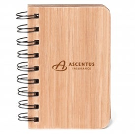 Bamboo Jotter Pad for Your Company