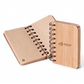 Custom Bamboo Jotter