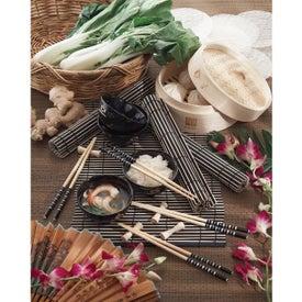 Printed Bamboo Steamer Set