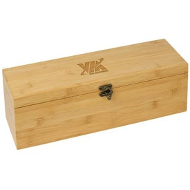 Bamboo Wine Gift Set for your School