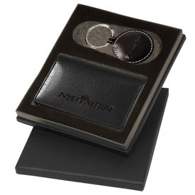 Printed Barclay Leather Gift Set