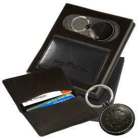 Barclay Leather Gift Set for Your Company