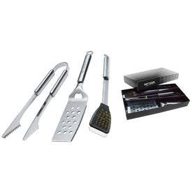 Stainless Steel BBQ Set (3 Piece)