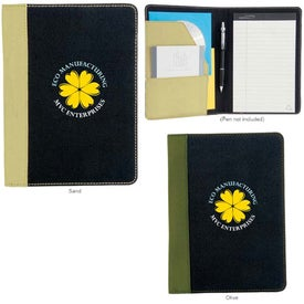 Berkeley Recycled Jr. Padfolio for your School