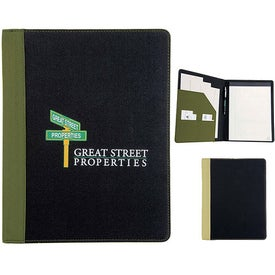 Berkeley Recycled Padfolio
