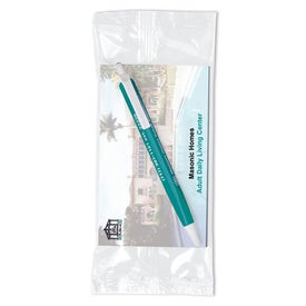 BIC Tri Stic Pen and Notepad