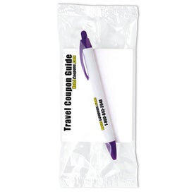 BIC Wide Body Pen and Notepad