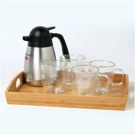 Binara Mug Set w/Tray and Carafe