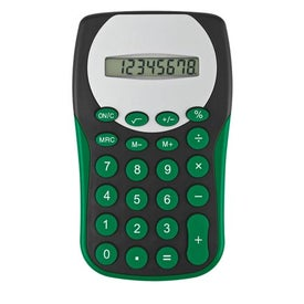 Black Magic Slim Calculator Imprinted with Your Logo