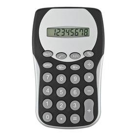 Black Magic Slim Calculator with Your Slogan