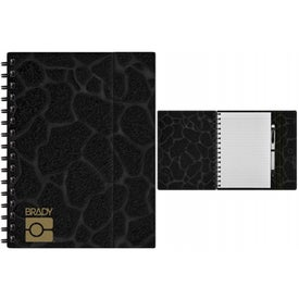 Promotional Black Spiral Journal