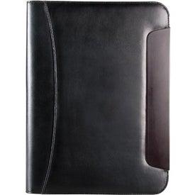 BlackWood Zippered Padfolio for Customization