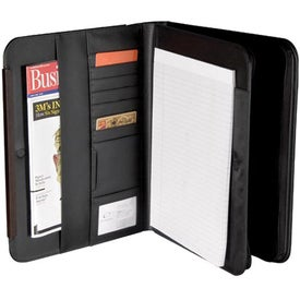 BlackWood Zippered Padfolio