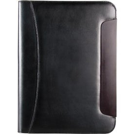 Logo BlackWood Zippered Writing Pad