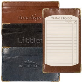 Bliss Jotter Pad Holder for Advertising
